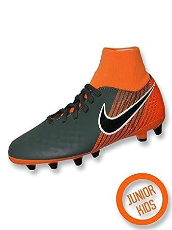 Stiefels Nike MAGISTA ONDA II DF ag pro Junior Grau/Orange