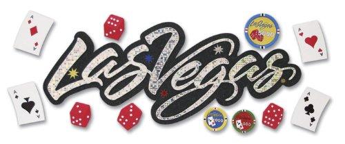 Jolees Boutique Title Wave Dimensional Stickers, Las Vegas