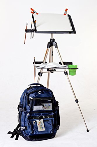 Air Easel (The En Plein Air Pro Traveler Series for Watercolor with Sunpak 2001 Tripod)