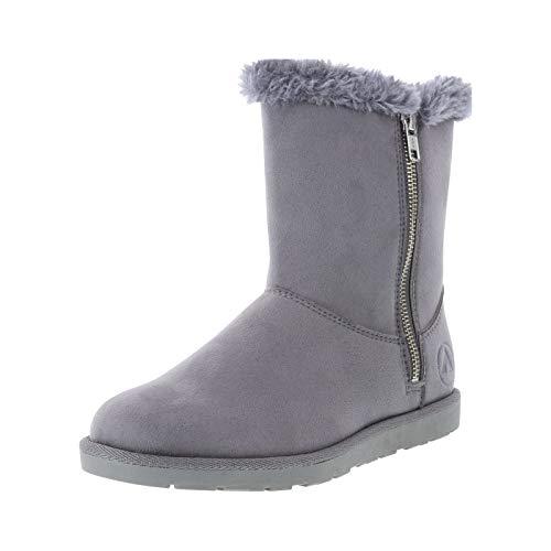 Airwalk Grey Women's Prim Cozy Boot 8.5 ()