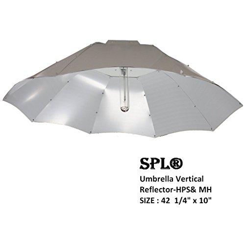w Light HPS MH System for Plants Gull Vertical Umbrella Reflector (Vertical Reflector)