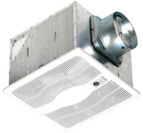 Air King ESB130SG Energy Star Qualified Single Speed Motion Sensing Exhaust Bath Fan with 130-CFM, White Finish by Air King America (Air King Humidifier)