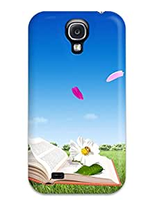 Tpu Case Cover For Galaxy S4 Strong Protect Case - Colorful Fresh Air Design 4358070K16995785