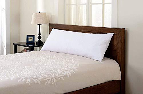 SGI bedding Ultra Luxury Soft Body (20x54) Pillow - Hypoallergenic 400 Thread Count 100% Egyptian Cotton Shell