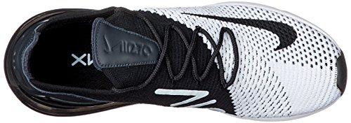 Nike Max Blanc Flyknit 270 Noir AIR HTr0H
