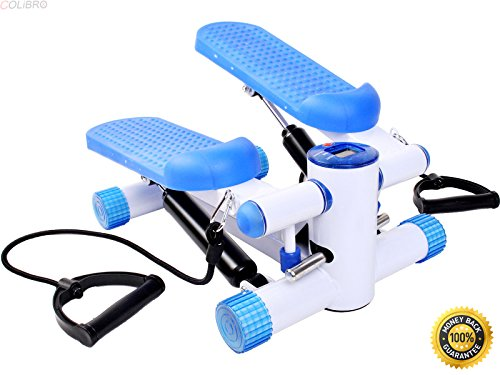 COLIBROX--Air Stair Climber Stepper Exercise Machine Aerobic Fitness Durable Equipment,mini stair stepper,sunny health & fitness sf-1115 climbing stepper exercise machine,best stepper ()