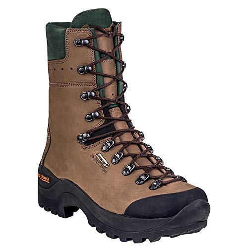 Kenetrek Mountain Guide 400 Insulated Hiking Boot, 12 Wide Brown