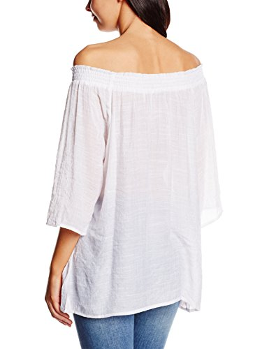 B. Young Fianna Mid Sleeve - Blusa Mujer Blanco (White 80100)