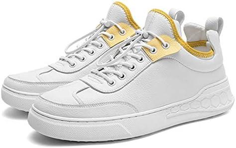 ホワイト しろ 白の靴 スニーカー メンズ デッキシューズ カジュアルシューズ メンズ 春夏 レースアップシューズ 黒 厚底 クッション性 柔らかい コンフォートシューズ メンズ ウォーキングシューズ スケートボード