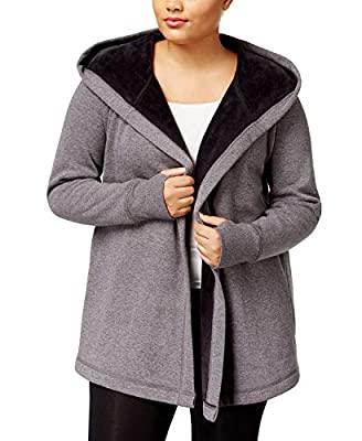Ideology Plus Size Hooded Wrap
