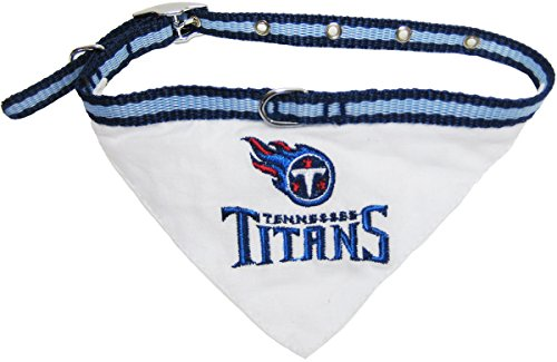 picture of Pets First NFL Tennessee Titans Pet Bandana, Small