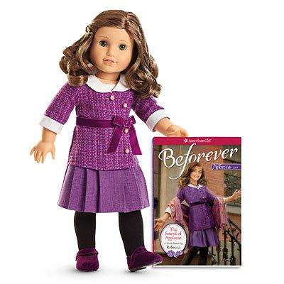 American Girl – Beforever Rebecca Doll & Paperback Book