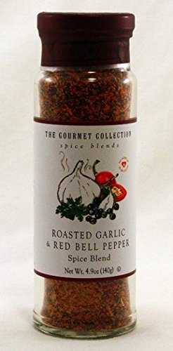 (Roasted Garlic & Red Bell Pepper the Gourmet Collection, Spice Blend 4.9oz.)