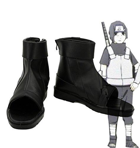 Naruto Anime Uchiha Itachi Cosplay Sko Støvler Skreddersydde