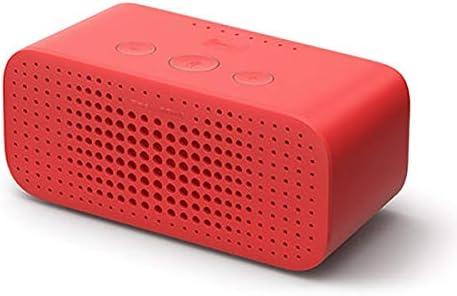 CHAOQIANG TmallエルフスクエアシュガーRスマートスピーカーのBluetoothオーディオ小型スマートAI目覚まし時計ホームの声知能ロボット (Color : Red, Size : Light Bulb Set)