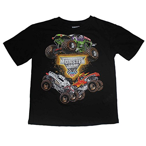Monster Jam Boys T-shirt 4-7 (4)