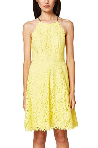 745 Yellow Collection Light Femme ESPRIT Robe Jaune nY166X4