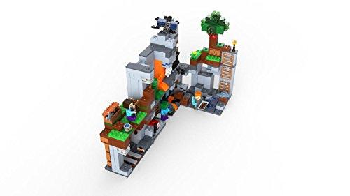 411M HYohwL - LEGO Minecraft The Bedrock Adventures 21147 Building Kit (644 Piece)