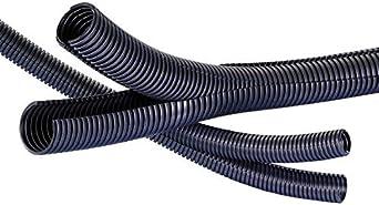 blanc TV C/âbles /électriques Cache-c/âble pour tube de rangement de c/âble 5 m de long 13 mm de diam/ètre