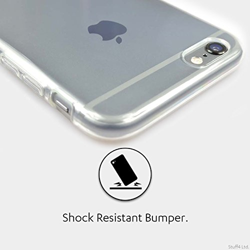 Stuff4 Gel TPU Hülle / Case für Apple iPhone X/10 / Pack 10pcs / Tupfen Muster Kollektion