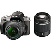 Sony Alpha A330Y 10.2 MP Digital SLR Camera with Super SteadyShot INSIDE Image Stabilization and 18-55mm and 55-200mm Lenses Basic Facts Review Image