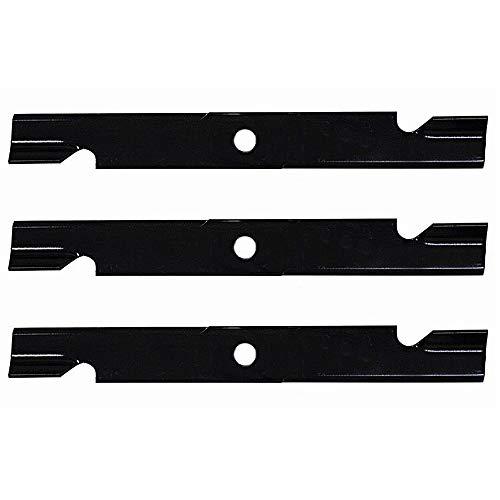 Mower Blades Exmark - Stens 3 Notched Hi-Lift Blades 60