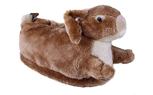 (9011-4 - Bunny - X Large - Happy Feet Animal Slippers)