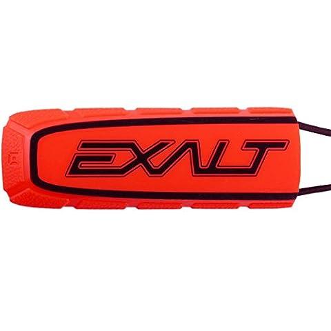 Exalt Paintball Bayonet Barrel Condom / Cover - Red / Black