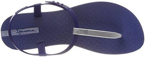 Ipanema Blue Sandali Chiusura Donna T Sand 8402 con Fem V Silver Multicolore a Charm pPHBxrp