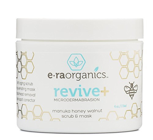 Microdermabrasion Face Scrub & Facial Mask - Manuka Honey &