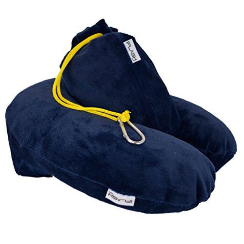 iFlash Next Gen Inflatable Travel Pillow (Blue)