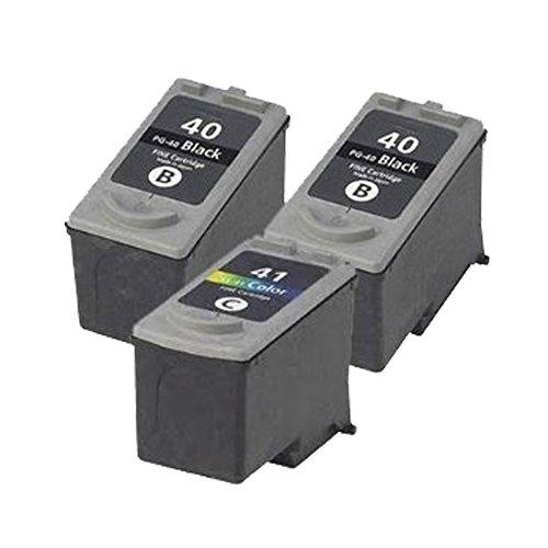 3 ECS Compatible Negro y color cartucho de tinta remanufacturado ...