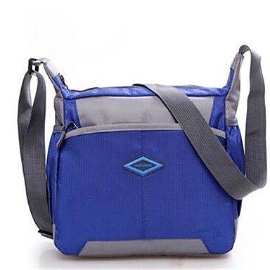wzw mujeres paño de Oxford bolsa de hombro al aire libre, army green azul
