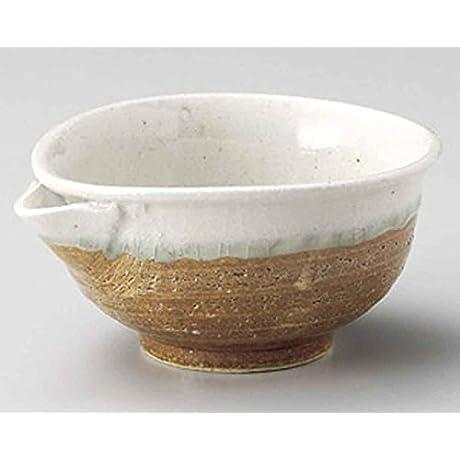 Iga White Nagashi 5 5inch Set Of 10 Small Bowls Beige Ceramic Made In Japan