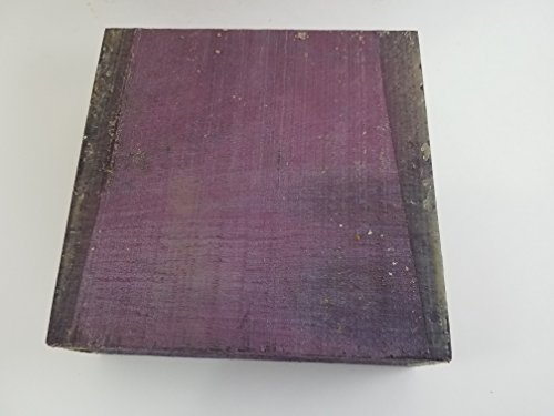 One Bowl Blanks Kiln Dried Exotic Purpleheart Lumber Lathe 6