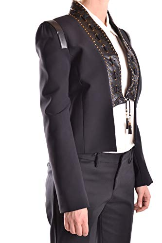 Mcbi30029 Blazer Negro Elisabetta Poliamida Mujer Franchi zwCx0q7