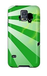 New Arrival EeXdsFc3379lwZxS Premium Galaxy S5 Case(skull Dark Abstract Dark)