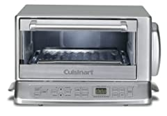 Today's busy lifestyle have made the multifunctional countertop oven more popular than ever. This Cuisinart Toast Oven Broiler features state-of-the-art electronic touchpad controls and a stainless steel bar handle and side grips to give it a...