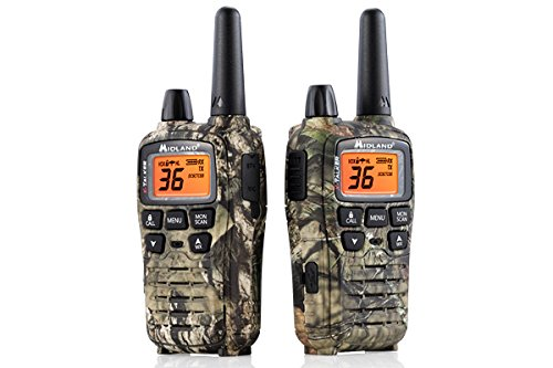 Midland - X-TALKER T75VP3, 36 Channel FRS Two-Way Radio - Up to 38 Mile Range Walkie Talkie, 121 Privacy Codes, & NOAA Weather Scan + Alert (Pair Pack) (Mossy Oak Camo) by Midland (Image #1)