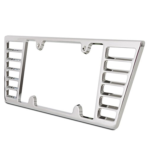 Corvette Billet License Plate Frame for C6 and C7 2005-Current (C6 Billet)