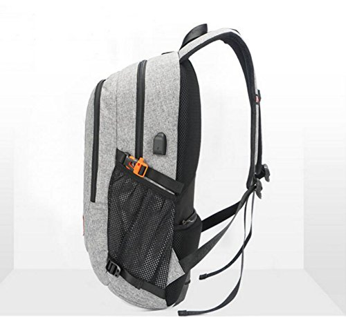 Computer Rechargeable Travel Backpack Waterproof Men Shoulder Bag Anti Blue And Women Theft Student nxvWx0Cc