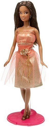 Barbie Fashion Fever   Perfect Peach Makeup Chic Doll by Mattel