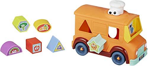 세서미 스트리트 쿠키 몬스터의 미식가 트럭 모양 분류기 및 차량 장난감 18 개월 이상