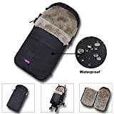 100% Australia Lambskin Universal Baby Stroller Footmuff Fits All Kinds of Baby Strollers Carseats Joggers