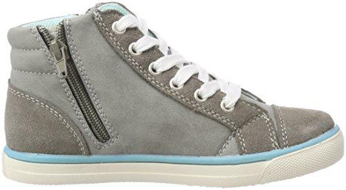 Indigo Mädchen 451 051 Hohe Sneaker Grau (Grey 203)