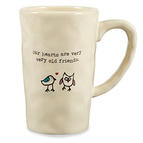 Natural Life 1 Count Giving Mug, Owl Old Friends