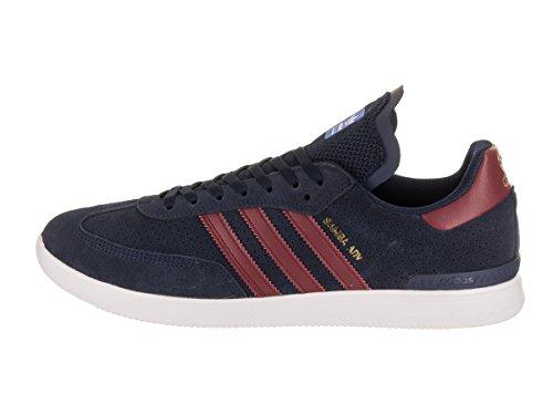 adidas Skateboard Herren Samba ADV Navy / Burgund / Weiß