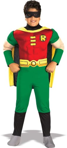Delux (Batman And Robin Halloween Costumes For Toddlers)