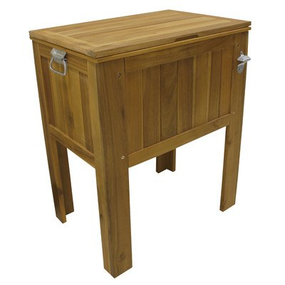 Amber-Log Wooden Slat Country Cooler (Cooler Country)