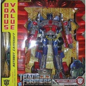 amazoncom transformers movie leader optimus prime